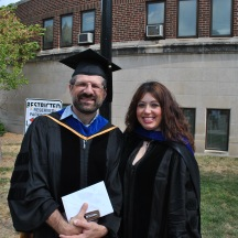 PhD Graduation with Dr. Sorin A. Matei