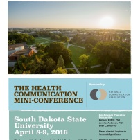 Flyer for the HCMC Conference, 2016