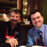 Dr. Sorin Matei and Dr. Brian Britt